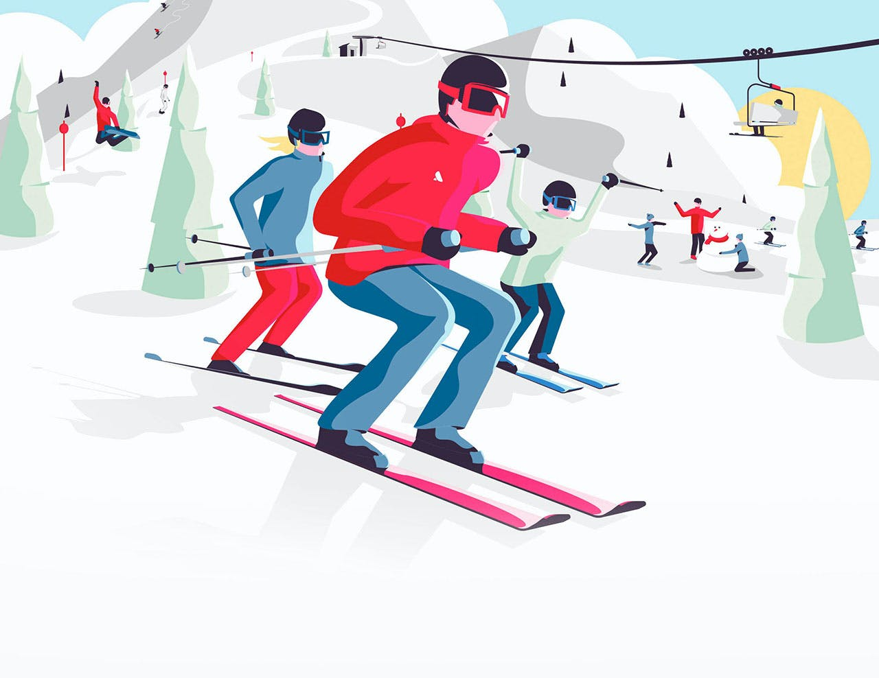Ski lessons. Simplified.